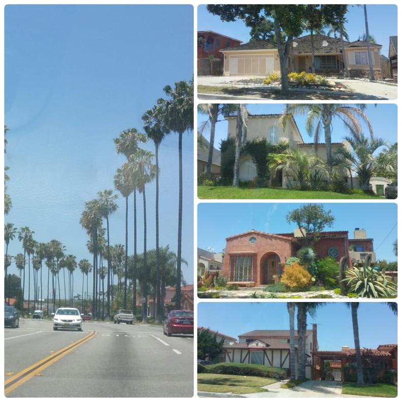 Nice house we passed, I believe we were in Inglewood.