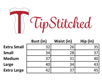 TipStitched Size Chart 8-2-2018